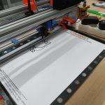 Tisk předlohy litmonek na papír